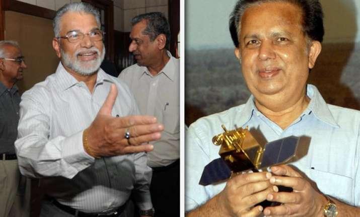 former isro chief madhavan nair 3 space scientists banned