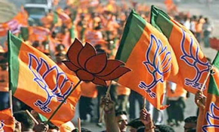four jvm mlas join bjp ahead of assembly polls