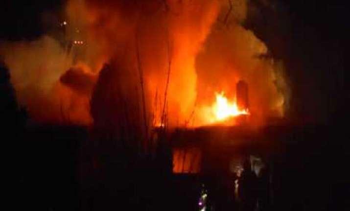 four children die in jharkhand fire