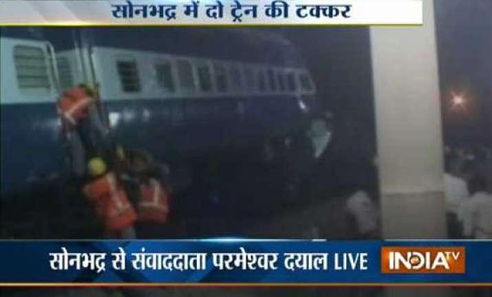 2 dead in collision between passenger train and varanasi