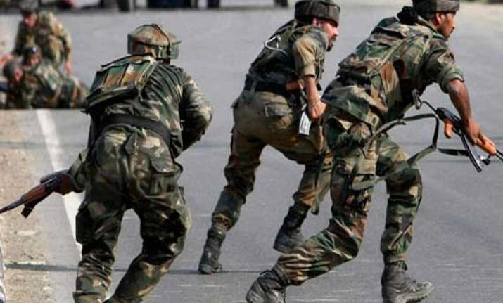 four militants two soldiers killed in kupwara gunfights