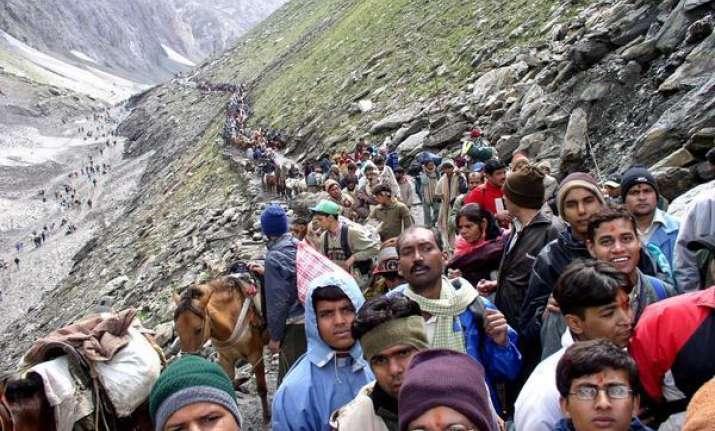 fresh batch of 2 140 pilgrims leave for amarnath