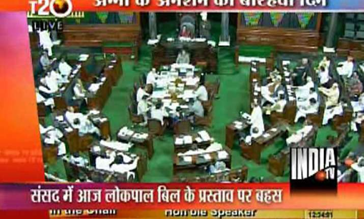 team anna happy with govt move to put resolution to voice