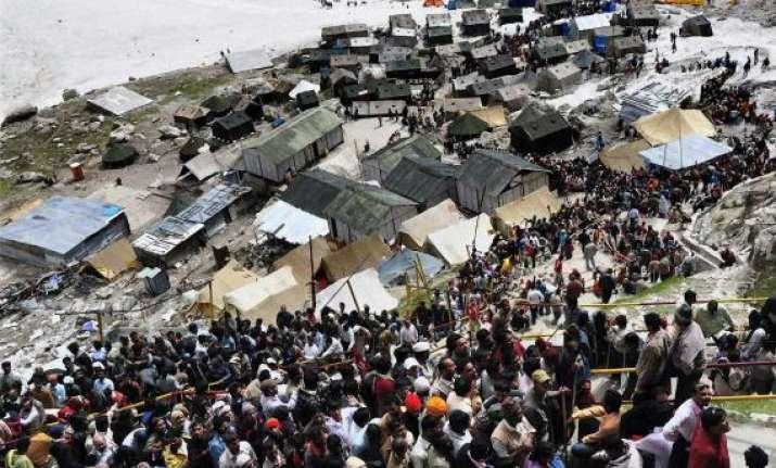 fresh batch of 3 348 pilgrims leave for amarnath