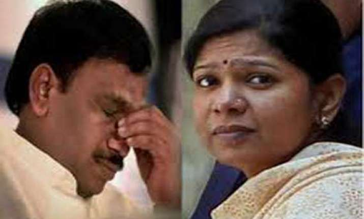 2g case raja kanimozhi move bail application