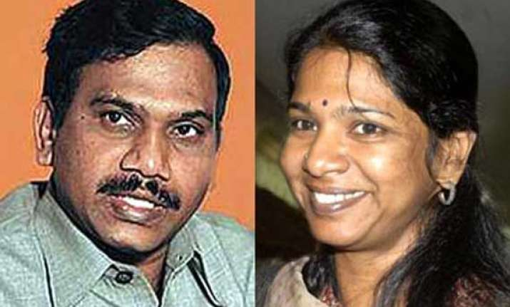 2g scam charge sheet against raja kanimozhi soon