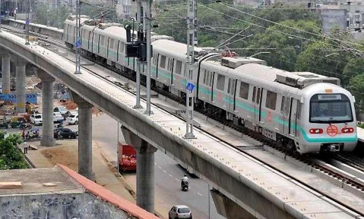 gom clears extension of metro to faridabad bahadurgarh