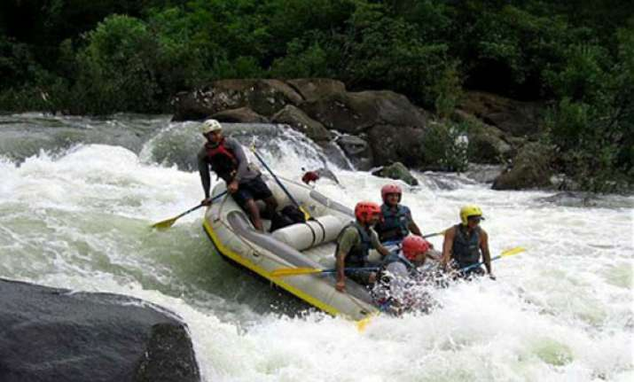 gtdc introduces river rafting in goa