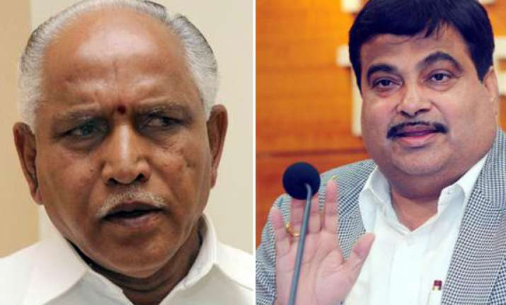 gadkari asks yeddy to have patience