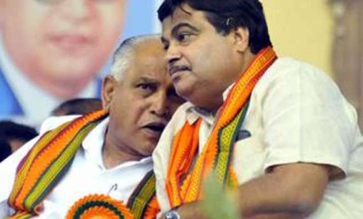 gadkari to take final call on yeddyurappa s fate