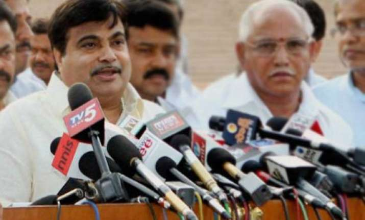 gadkari s pilot arrested with cartridge released