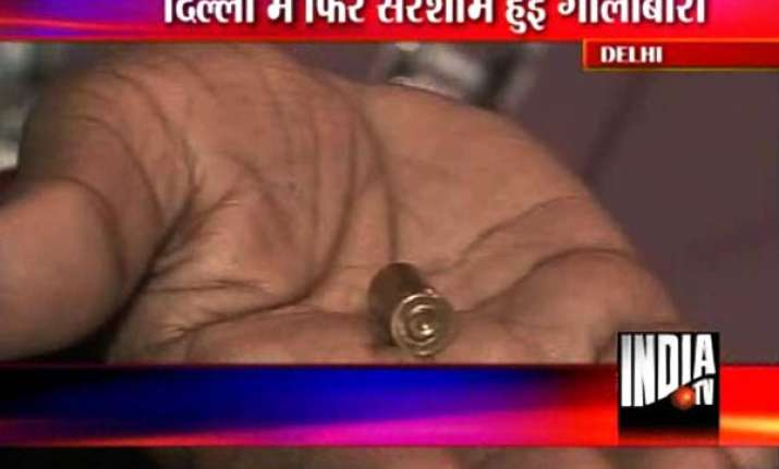 gang fires shots bashes up a youth in east delhi