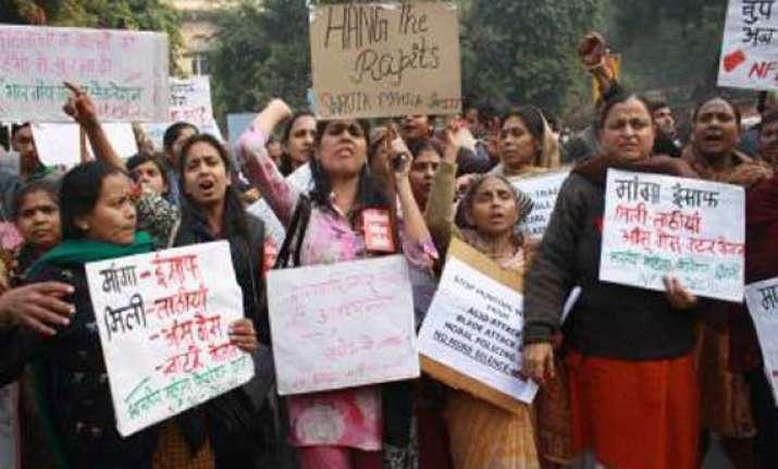 gangrape protests shift to jantar mantar