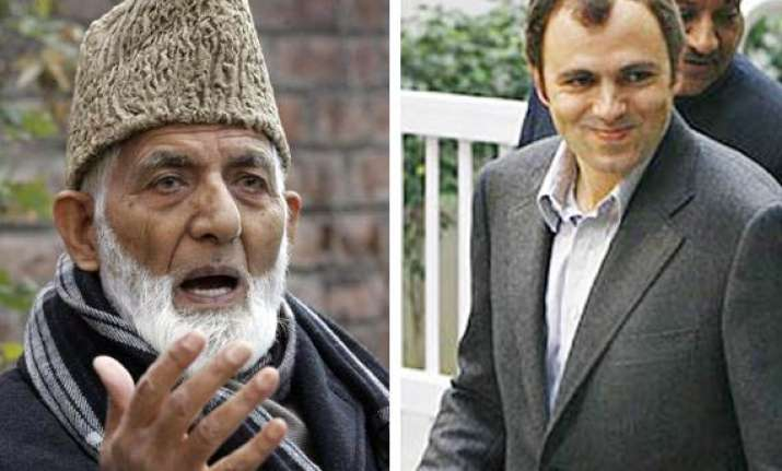 geelani losing feel of people s pulse omar