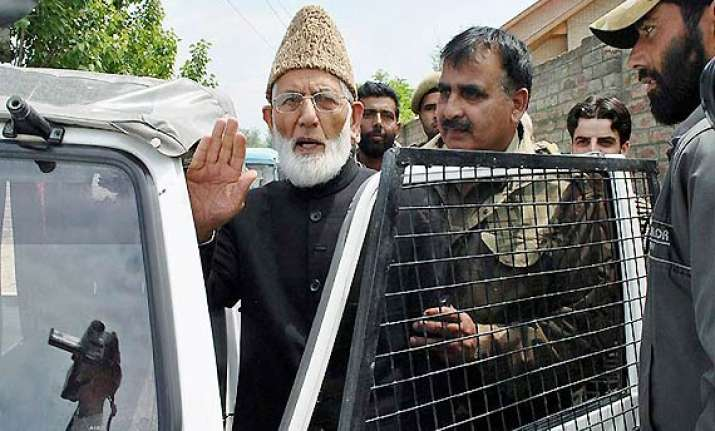 geelani s close aide chargesheeted in hawala case