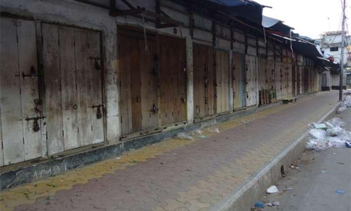 general strike cripples life in manipur