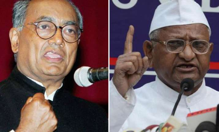 get rid of street smart team members digvijay advises anna