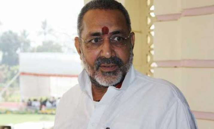 giriraj singh may be arrested soon poll official