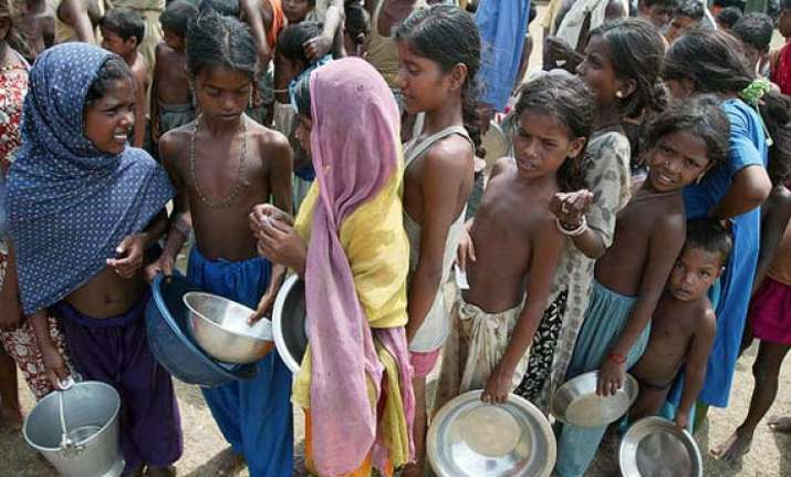 global hunger index india at 63rd position still behind