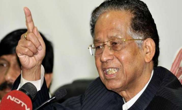 gogoi cancels sa trip for assam situation