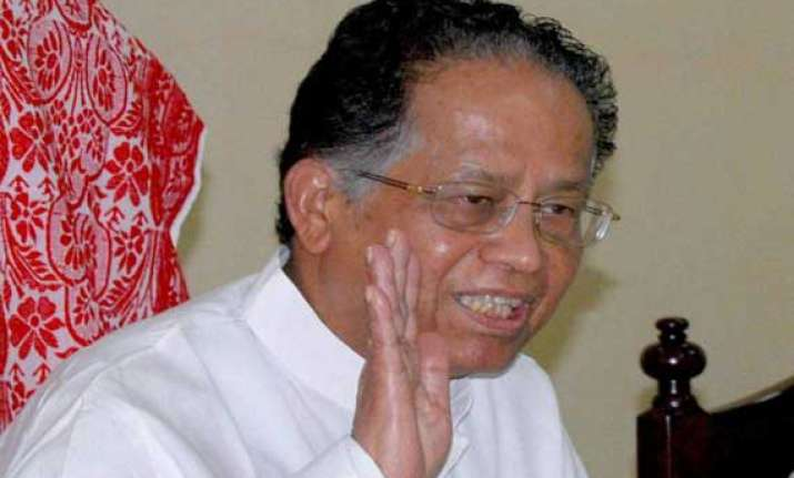 gogoi meets senior party mlas to select new set of ministers