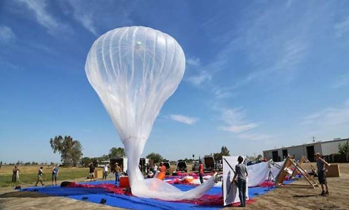 google may implement balloon internet project in india