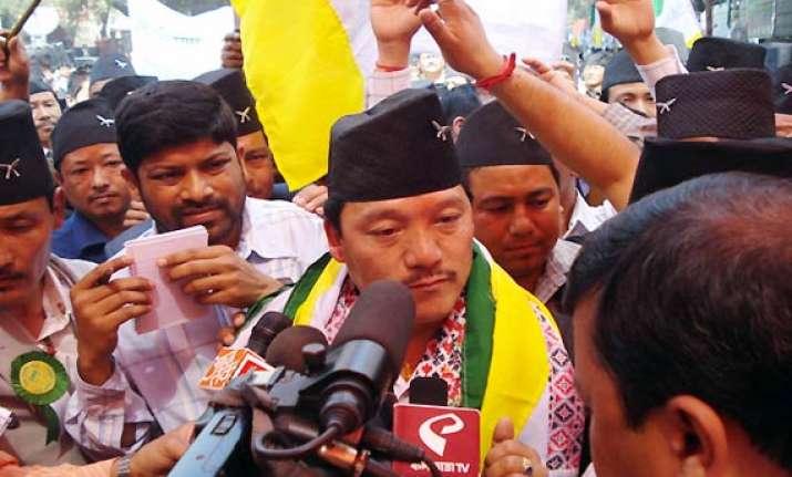 gorkhaland demand remains bimal gurung