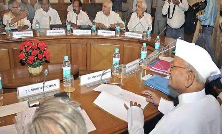 govt civil society talks on lokpal bill fail