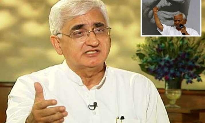 govt open to further talks says salman khurshid