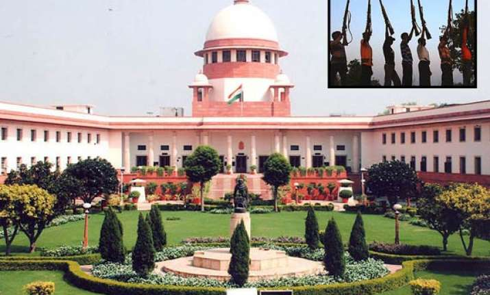 govt to seek review of sc s salwa judum order