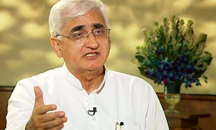 govt was caught unaware by hazare campaign khurshid
