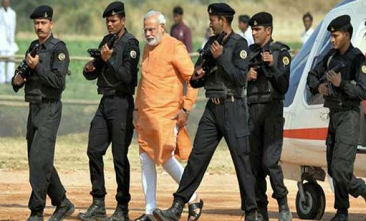 ground to air security cover for modi s swearing in