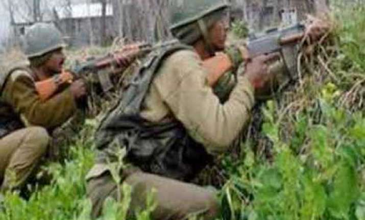 guerrilla hideout busted in jammu and kashmir