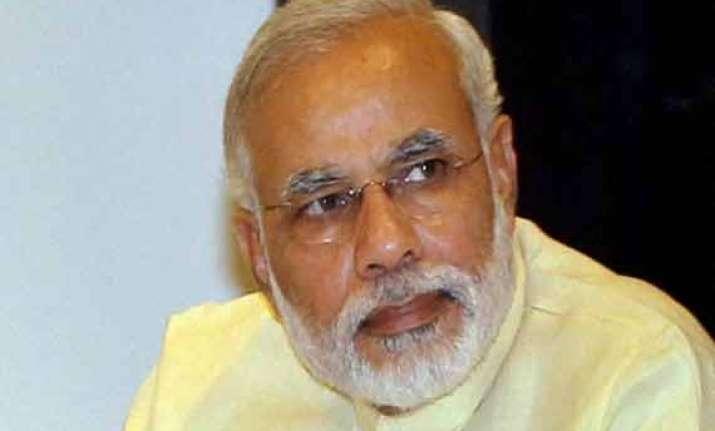 gujarat cm anandiben patel calls on pm narendra modi
