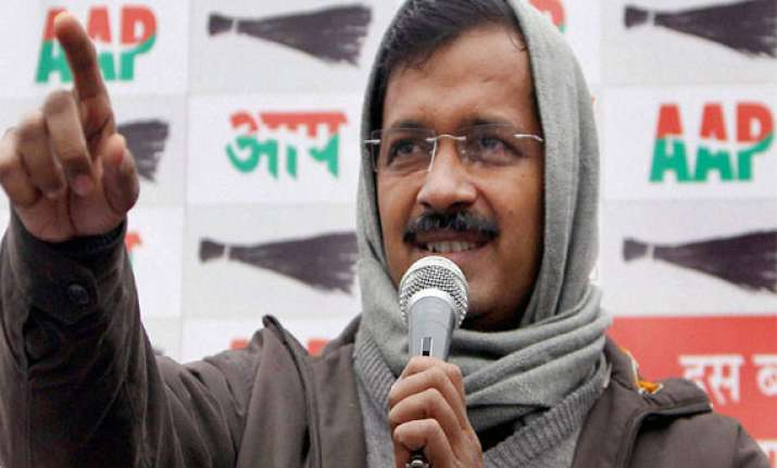 gujarat chief electoral officer gets report on kejriwal s