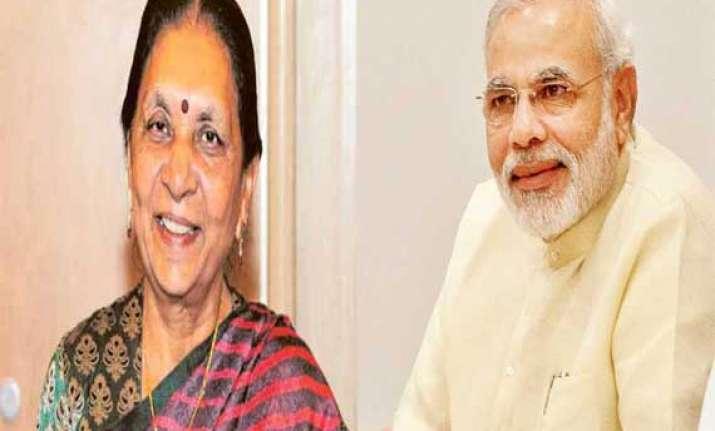 gujarat chief minister anandi patel to meet pm modi tomorrow