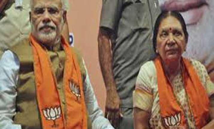 gujarat chief minister anandi patel to meet pm narendra