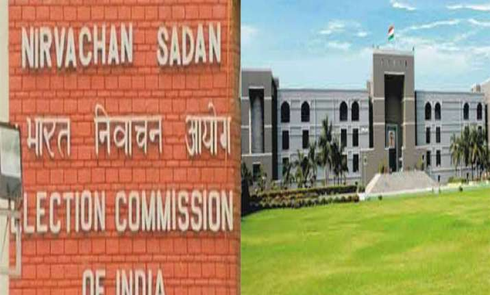 gujarat high court notice to ec on cancellation of aap