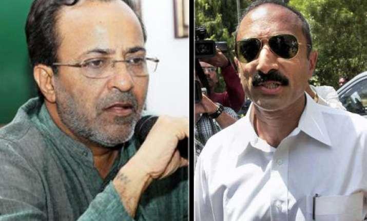 gujarat govt links congress leader modhvadia to bhatt case