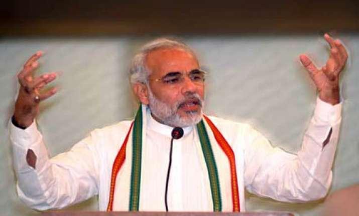 gujarat has become benchmark for development in india modi