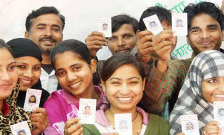 gurgaon voters praise clean polling stations.