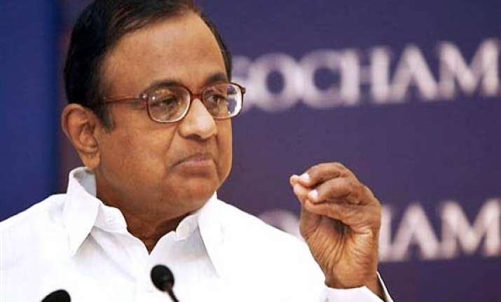 chidambaram rejects bjp charges denies having interest with