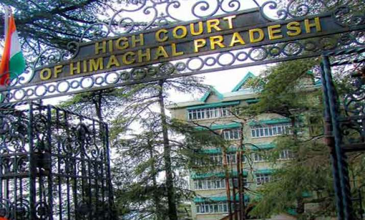 hp high court notice to state government civic body on