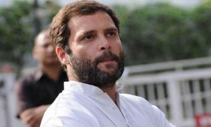 har har modi slogans raised during rahul s rally in up