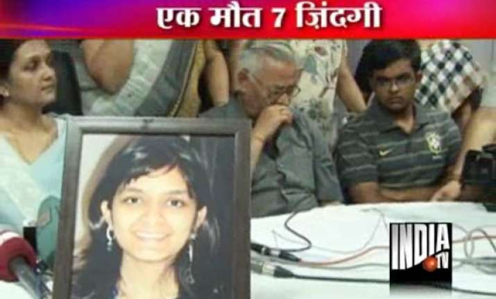 harshita gives life to many after her death