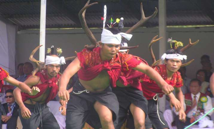 harvesting festival being celebrated in manipur