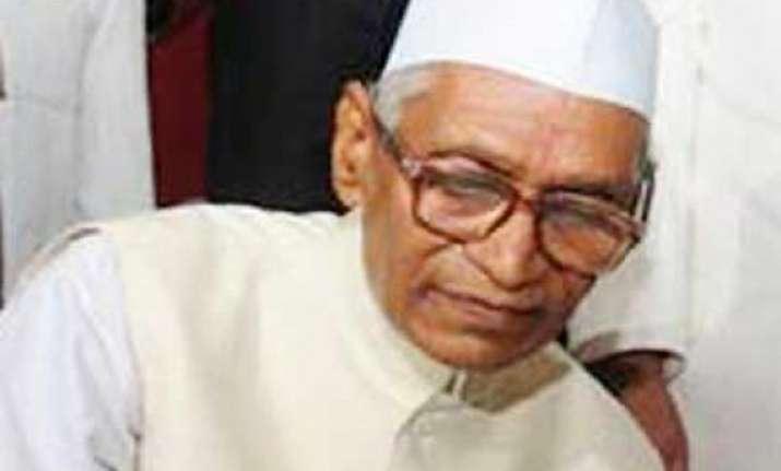 miraculous escape for haryana governor jagannath pahadia