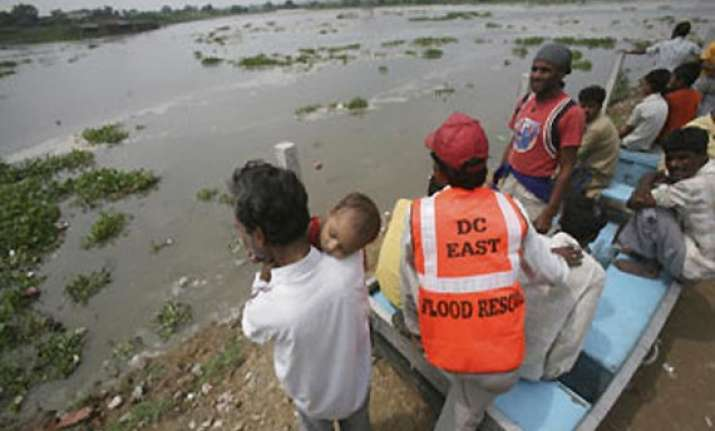 haryana villagers rescued from flooded yamuna