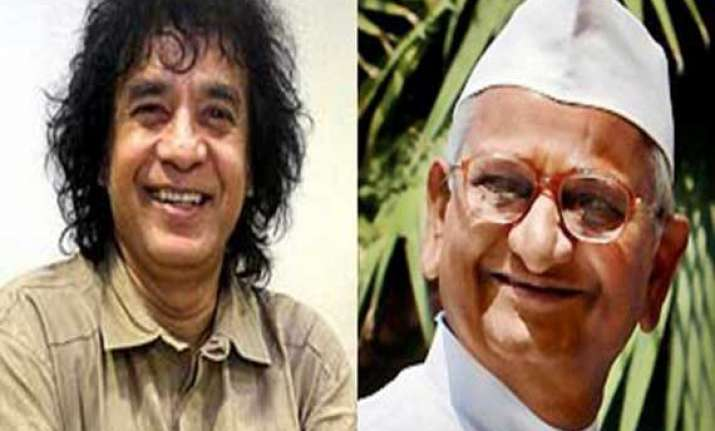 hazare zakir hussain get deenanath mangeshkar awards