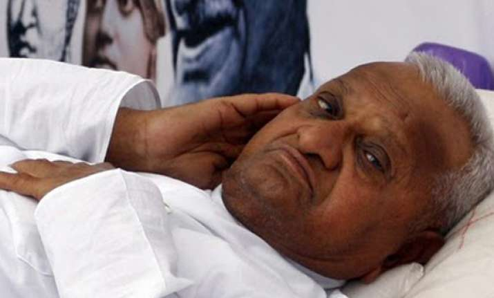 hazare advised 2 day rest to leave for delhi on dec 10